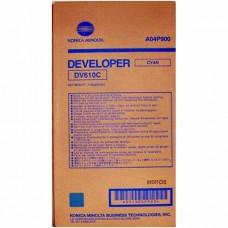 Konica Minolta DV-610C developer, cyan