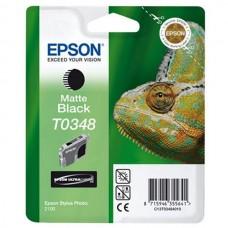 Epson T0348 ink cartridge, matte black