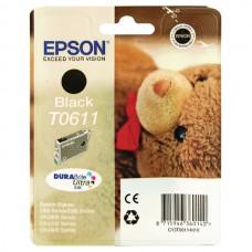 Epson T0611 ink cartridge, black