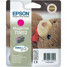 Epson T0613 ink cartridge, magenta