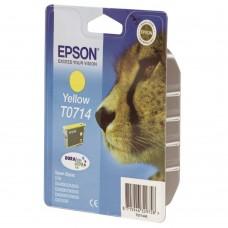 Epson T0714 ink cartridge, yellow