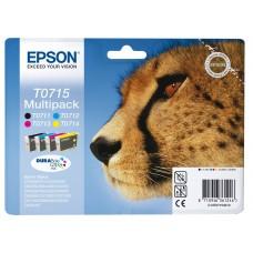 Epson T0715 ink cartridges, multipack